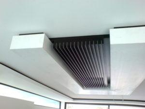 deckenkonsole weiss mit integrierter dunstabzuganlage