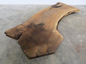 Unikattischplatte Nussbaum massivholz