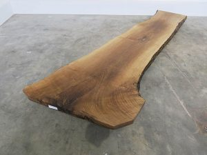 Unikattischplatte massivholz Nussbaum