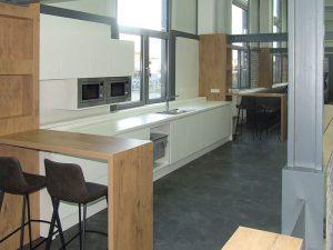 Werksbistro mit Küche