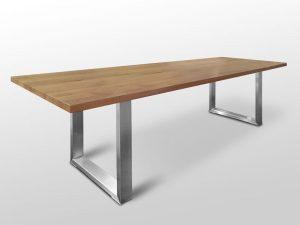Tisch Holz Metallbeine