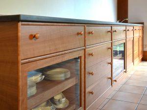 Küchezeile Holz