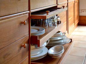 Küchezeile Holz Detail