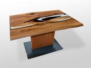 Epoxidharz Tisch-Holz